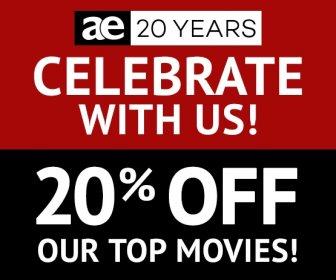 AE 20th Anniversary Sale