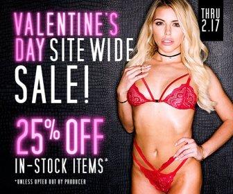 Valentine's Day in-stock Sale!