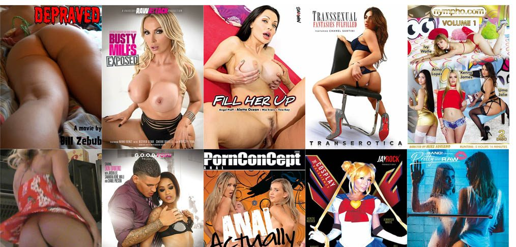 Newest and hottes VOD porn studios March