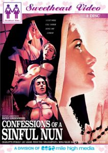 This is the cover art for Confessions of a Sinful Nun