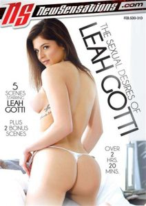 This is the artwork for the DVD The Sexual Desires of Leah Gotti