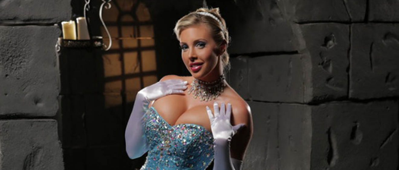 Samantha Saint stars in Cinderella XXX porn video
