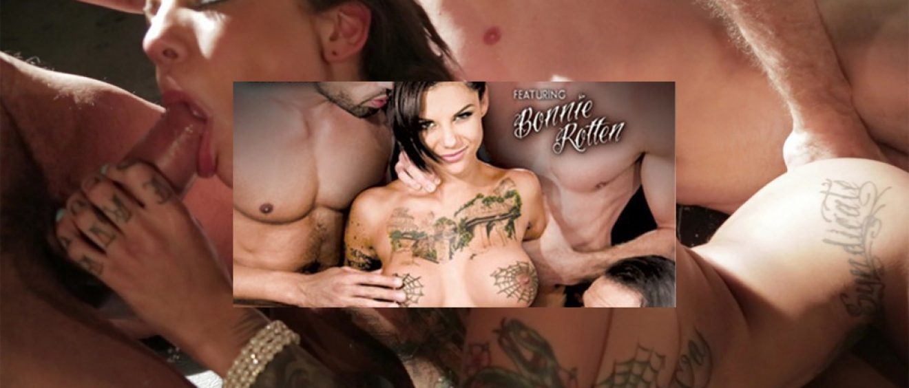 The Gang Bang Of Bonnie Rotten porn video