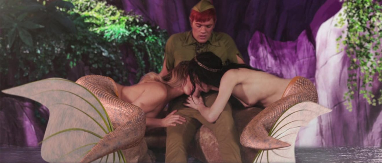 Peter Pan XXX porn video