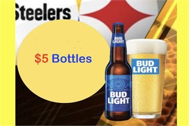 Steelers Game Day Specials
