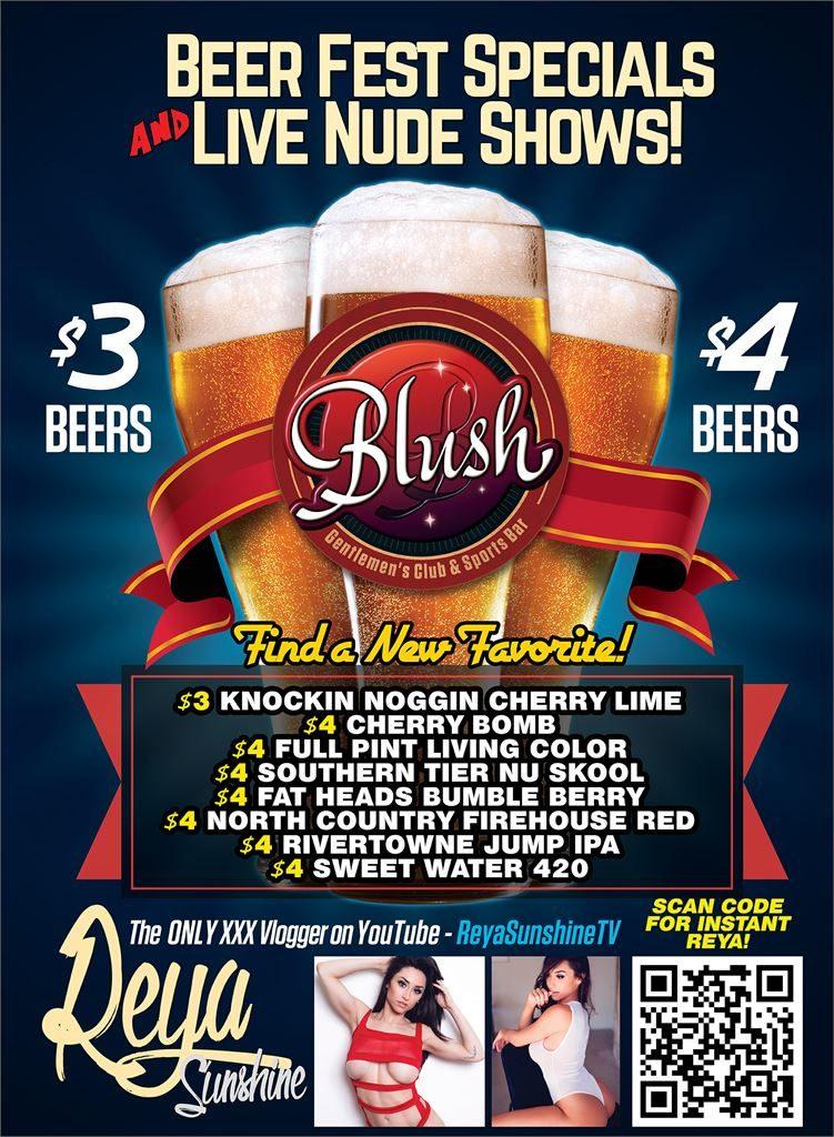 Reya Sunshine Beerfest Poster.