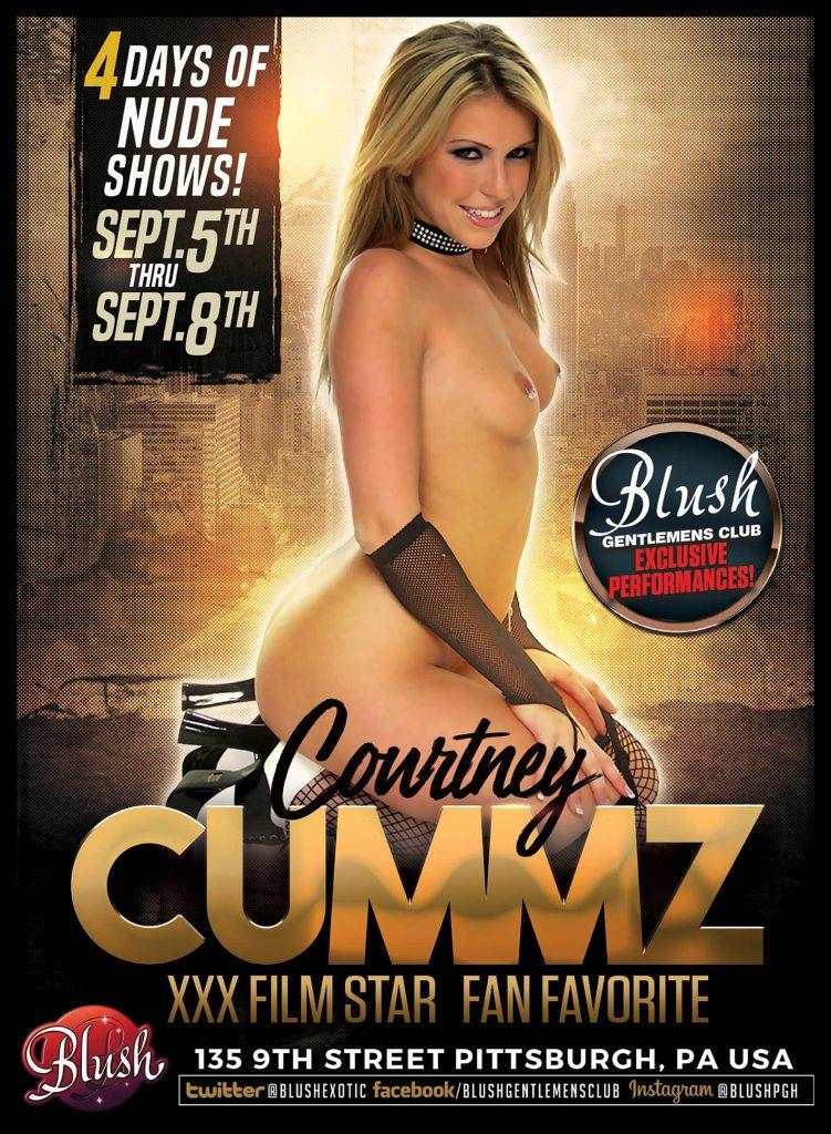 Courtney Cummz pornstar poster